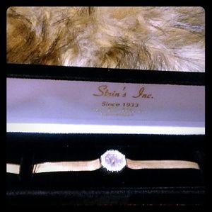 Jewelry - 14 karat gold Croton half carat diamond octagon fa